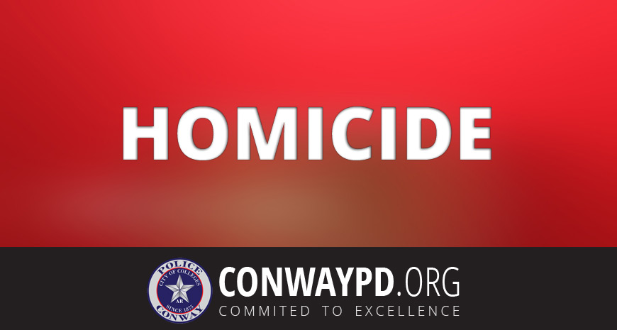 Conway Police Investigate First Homicide of 2015